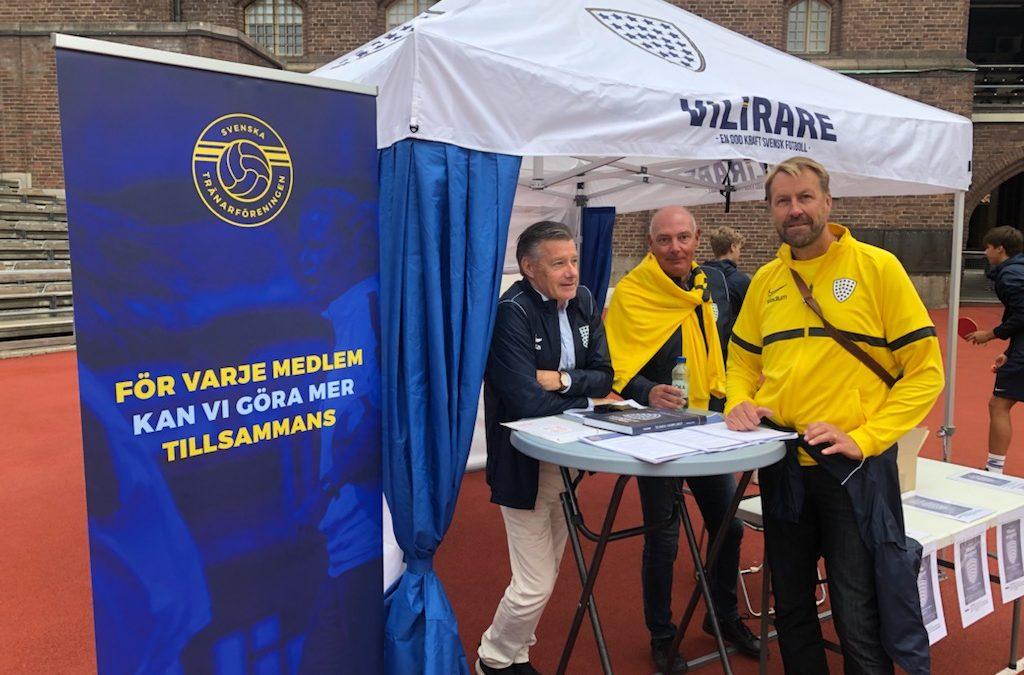 Tränarföreningen på ViLirare Football Festival